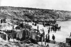 The beach at Gallipoli. (NZ Herald Archives)
