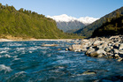 The Whataroa River and gorge. Photo / Tourism West Coast