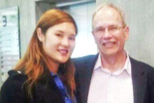 Len Brown and Bevan Chuang.