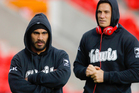 Thomas Leuluai and Sonny Bill Williams (R) of New Zealand. Photo / Getty Images.