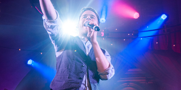 Olly Murs performed his first show in New Zealand at the ASB Theatre. Photo / Creative Commons