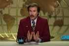 Ron Burgundy has a message for all Australians on the day of the 2013 Melbourne Cup. courtesy ParamountPicturesAU