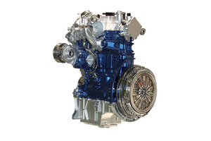 Ford's 1-litre ecoboost engine.