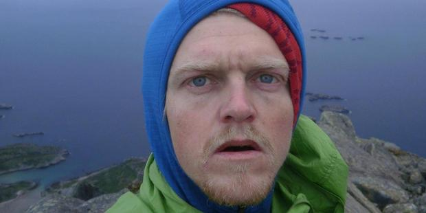 Magnus Kastengren died when he fell 600m while skiing on Mt Cook. Photo / supplied
