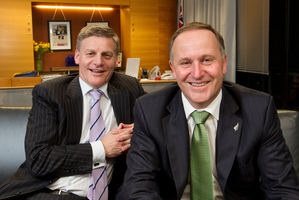 """If he says 'I want this', that is what happens,"" says Bill English about the PM. Photo / Mark Mitchell"
