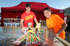Wayde Parnell and Erica MacDonald from Xtreme Pyro have turned away dozens of underage teens trying to buy fireworks.