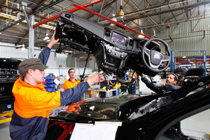 Australian car manufacturers such as Holden are facing an uncertain future with the government not keen on maintaining subsidies. Picture / Supplied