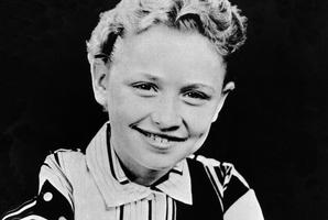 Dolly as a schoolgirl in the 50s. Photo / Michael Ochs