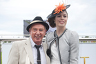 Fashion in the Field winners Sophie Reason and Geoffrey Colquhoum. Photo / Natalie Slade