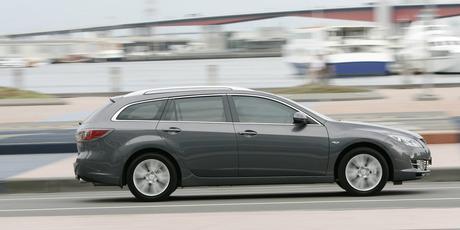 The Mazda6 wagon. Photo / Supplied