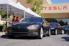 Tesla sold a record 5500 Model S sedans in the September quarter. Photo / Supplied