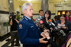 Police Commissioer Peter Marshall. Photo / Mark Mitchell