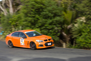 HSV Andrew Lamb handed over his own Clubsport R8.Photo / Shaun@Ambition Works.