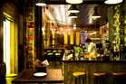 Interior detail of new restaurant Orleans in Britomart. Photo / Babiche Martens.