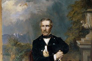 Sir George Grey, painted by Daniel Mundy, established British authority over New Zealand. (Alexander Turnbull Library)