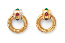 Givenchy Cabochon Earrings from Love and Object. Photo / Supplied.