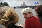 This photo of Edward Snowden taking a river cruise in Moscow has been authenticated by AP. Photo / AP via LifeNews via Rossia 24 TV channel