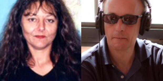 Slain journalists Ghislaine Dupont, left, and Claude Verlon. Photo / AP