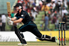 The form of Colin Munro was one positive from the 3-0 series sweep at the hands of Bangladesh. Photo / Getty