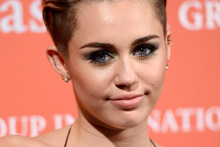 Singer Miley Cyrus.