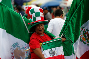 The match at Azteca Stadium is expected to be a sellout. Photo / AP