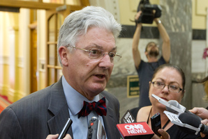 MP Peter Dunne. Photo / Mark Mitchell