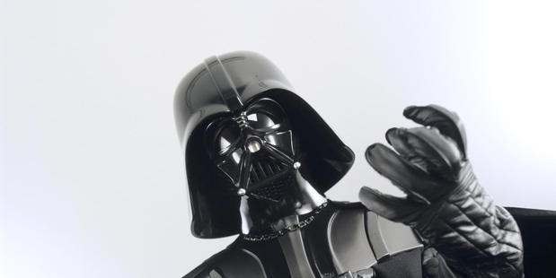 Darth Vader, villain of the first Star Wars trilogy.