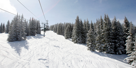 Vail is home to three terrain parks and plenty of powder-laden back bowls. Photo / Sarah Ivey