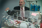 Professor Peter Gluckman discovered that cooling could reduce brain injury in premature babies. (Paul Estcourt)