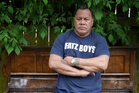 Peter Fatialofa pictured here when he had a company that fixed and restored pianos.  Photo / Sarah Ivey