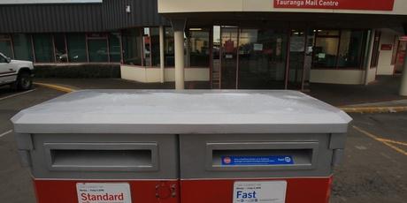 The Tauranga Mail Centre.