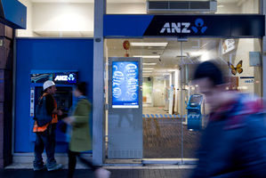 ANZ racked up $1.37b in profits in New Zealand over the past year, up 8 per cent on the previous year. File photo / Richard Robinson.
