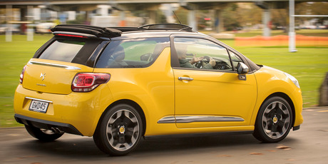 2013 Citroen DS3 Cabrio. Photo / Ted Baghurst.