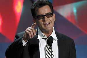 Charlie Sheen's twins will be cared for by their uncle, Scott Muller.Photo / AP
