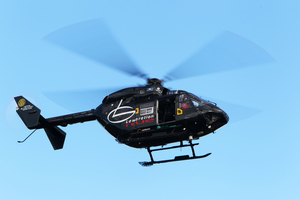 The Lowe Corporation Rescue Helicopter was dispatched to an incident at a beach at Whakaki north of Wairoa today where a boy and man drowned.