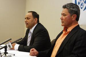 Willie Jackson and John Tamihere. File photo / APN