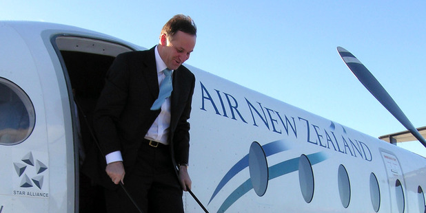 John Key's Administration is expected to sell a large stake in Air New Zealand in the next month or so. Photo / NZPA