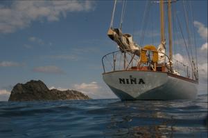 The classic American schooner Nina.