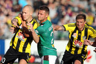Wellington Phoenix v the Newcastle Jets. File photo / APN