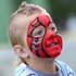 Young Kobe Critchley, 3, was Spiderman for the day. Photo / Michael Cunningham