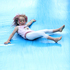 Slipsliding away at the Maunu School gala day on Saturday was Shelby Howle, 4. Photo / Michael Cunningham