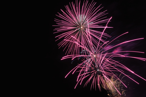 Anyone who starts a blaze with fireworks tonight will have to pay to put it out.