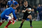 Aaron Smith is rated the best halfback the All Blacks have on tour. Photo / Getty Images