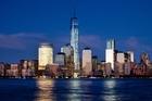 1 World Trade Center rises above the lower Manhattan skyline in New York. AP
