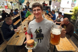 Okere Falls Store and beer garden is the venue for a beerfest of great flavours and drinkers of  good humour. PHOTO / ROTORUA DAILY POST
