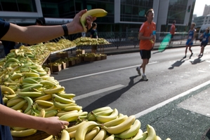 There was a reward of bananas at the finish.  Photo / Brett Phibbs