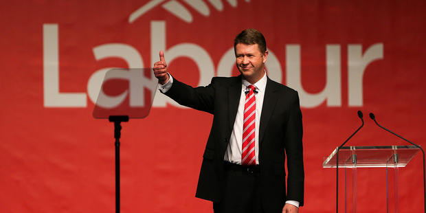 Labour Party Leader David Cunliffe during his speech to the Labour Party National Conference. Photo / Getty Images