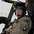 Squadron Leader (SQNLDR) Ben Pryor at the controls in Afghanistan. Photo / NZDF