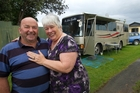 Lynn and Jude Mackie are working out how to get their housebus across the Tasman.