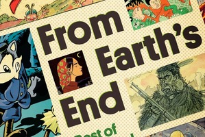 The cover of From Earth's End.